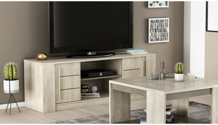 ANTIBES - Banc TV-Hifi 2 portes...