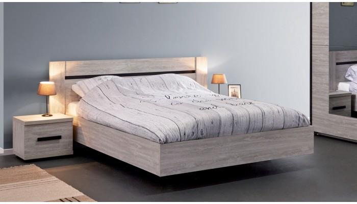 DELPHES - Lit pour couchage 140x190