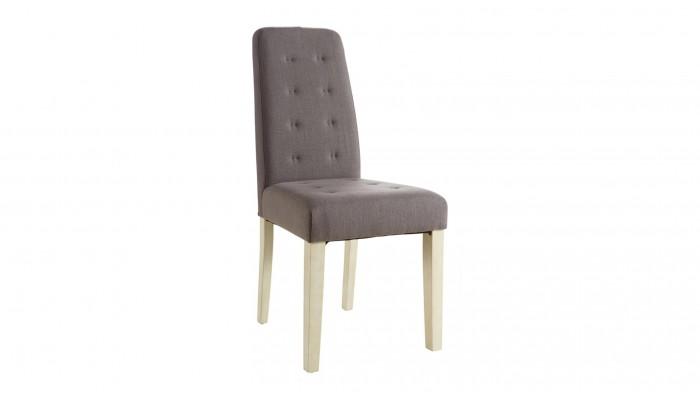 ALVIS - Lot de 2 chaises tissu
