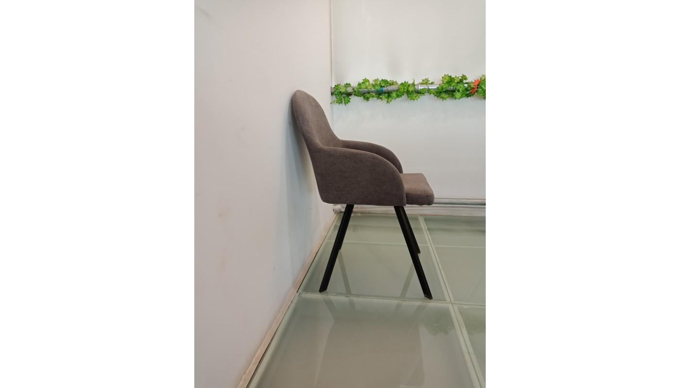 adele canap 2 places scandinave tissu noir pieds naturel les docks du meuble. Black Bedroom Furniture Sets. Home Design Ideas