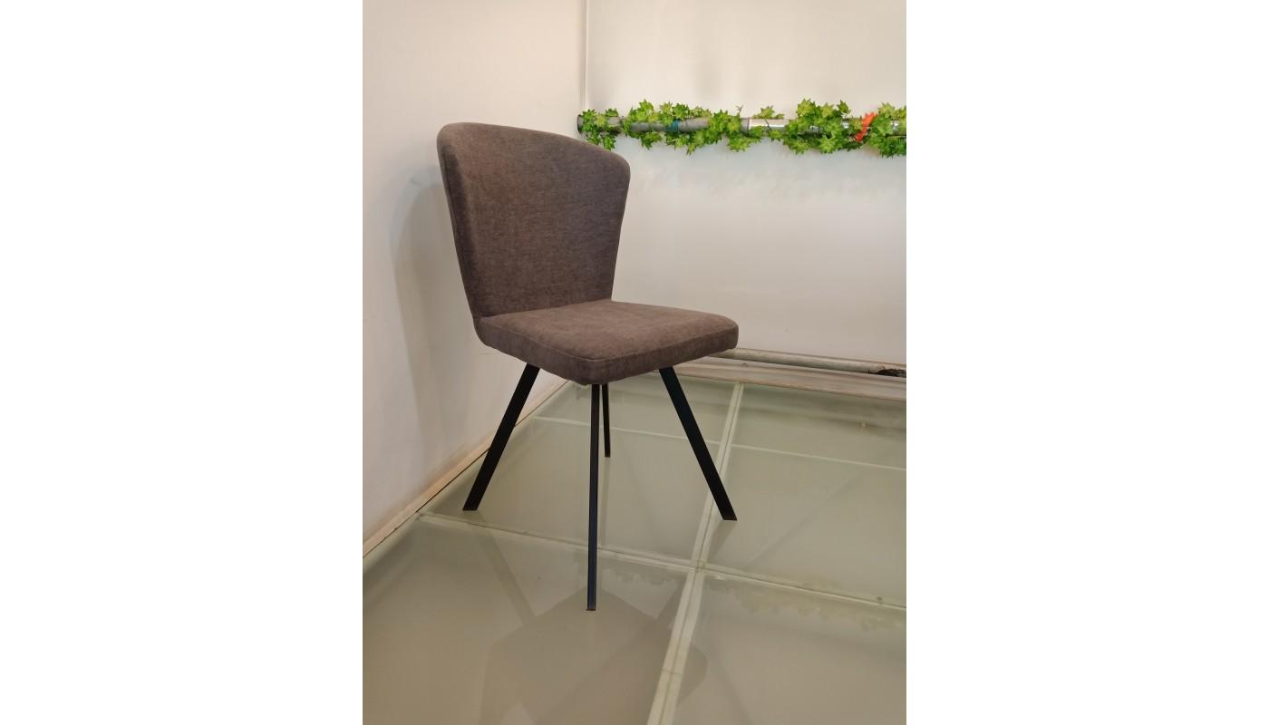 adele fauteuil scandinave tissu noir pieds naturel les. Black Bedroom Furniture Sets. Home Design Ideas