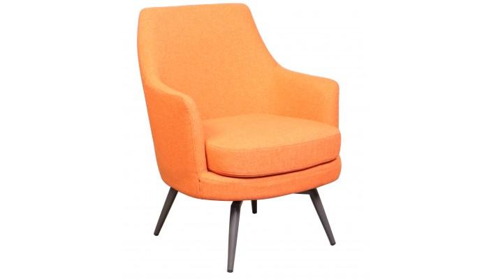CALGARY - Fauteuil de séjour orange
