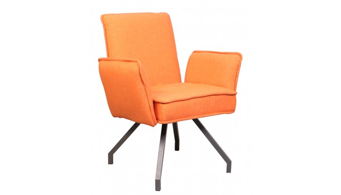 NEF - Fauteuil de séjour orange