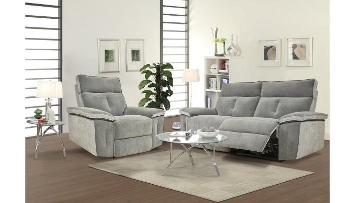KENT - Lot de 4 chaises blanches