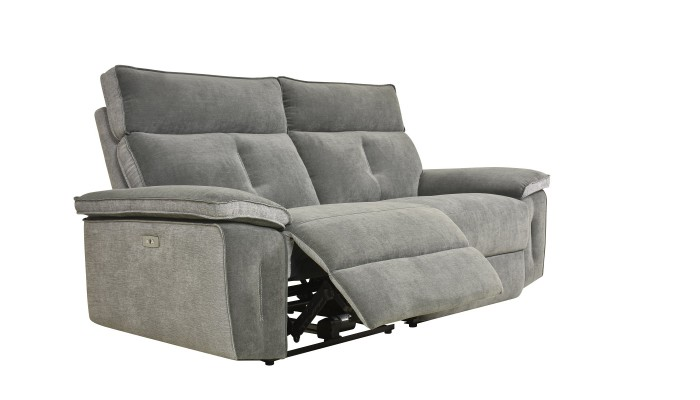 KENT - Lot de 4 chaises noires