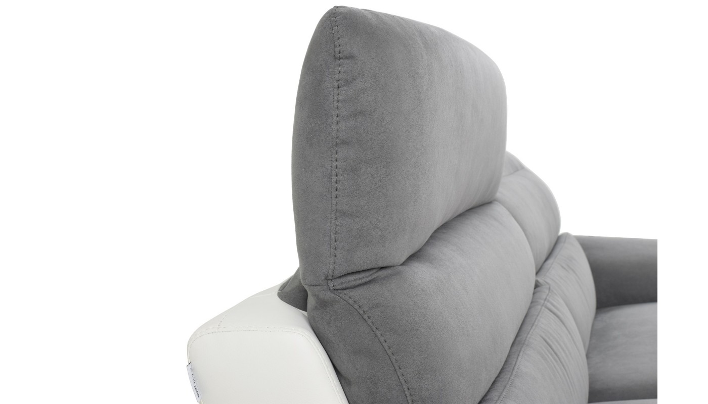 hedvig canap 3 places scandinave tissu noir les docks du meuble. Black Bedroom Furniture Sets. Home Design Ideas