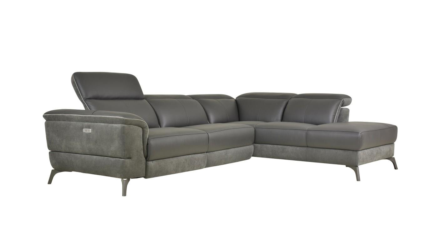 Deva fauteuil pivotant et pouf design imitation cuir vieilli les docks du meuble for Pouf cuir vieilli