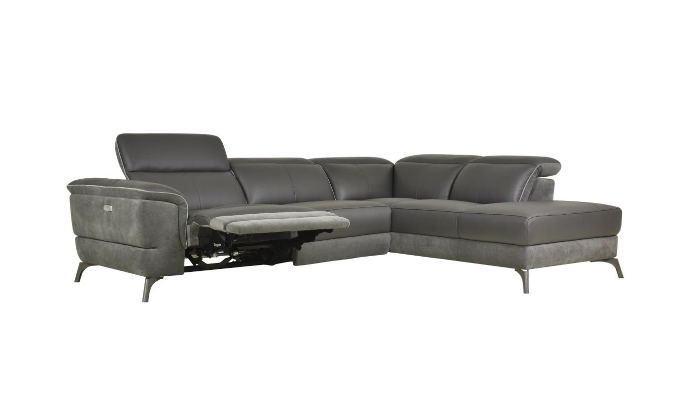 deva - fauteuil pivotant et pouf design imitation cuir vieilli ... - Imitation Meubles Design