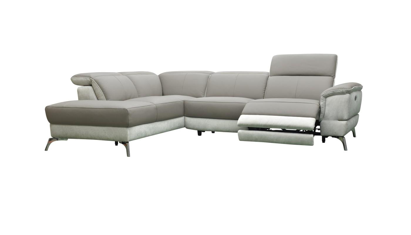 clac canap 3 places chocolat et ivoire les docks du. Black Bedroom Furniture Sets. Home Design Ideas