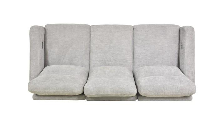 ABELIA - Lot de 4 chaises blanches
