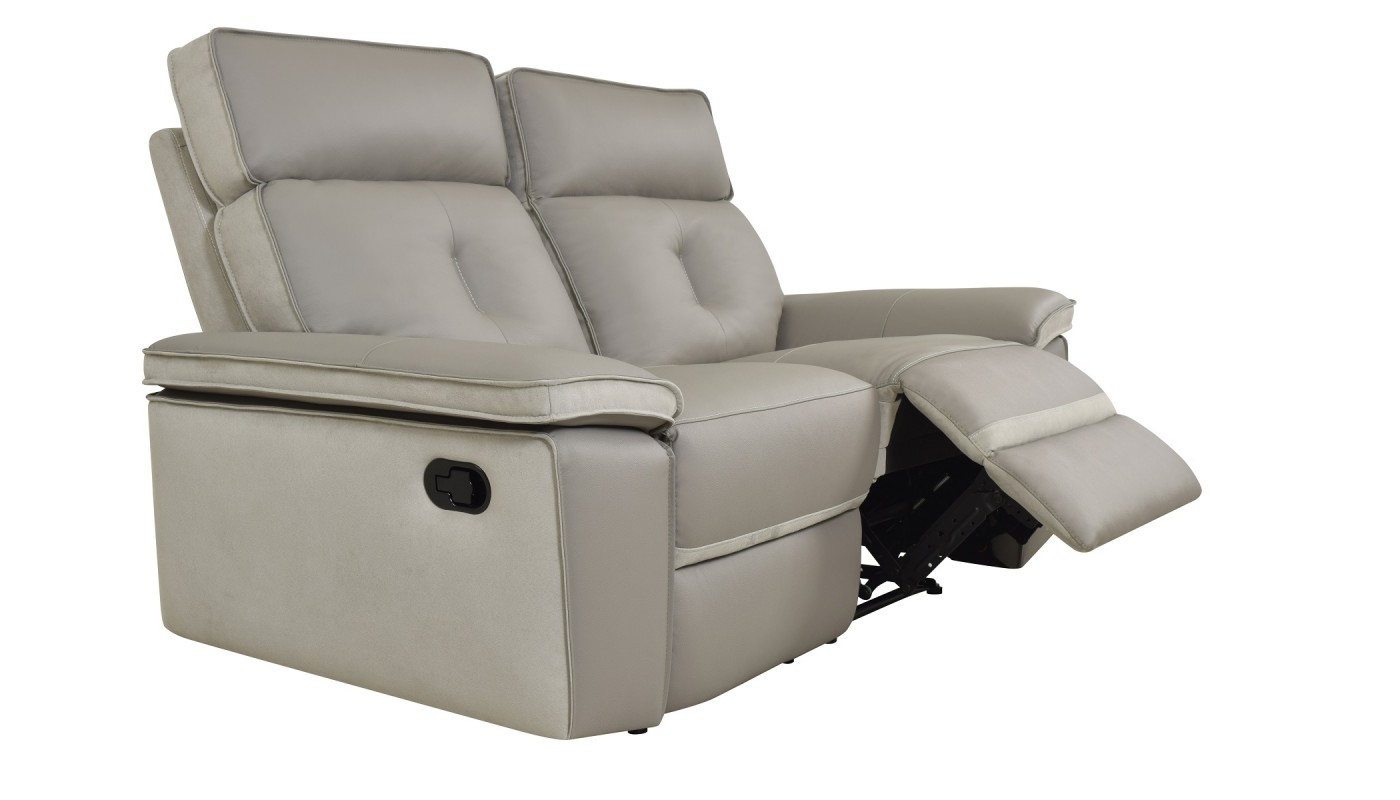 volto console extensible grise 3 allonges docks du. Black Bedroom Furniture Sets. Home Design Ideas