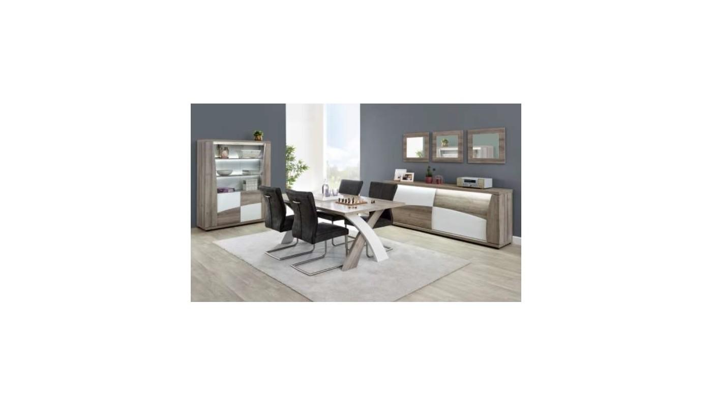 Smoothy meuble de cuisine haut 60 cm noir 1 porte - Meuble de cuisine 60 cm ...