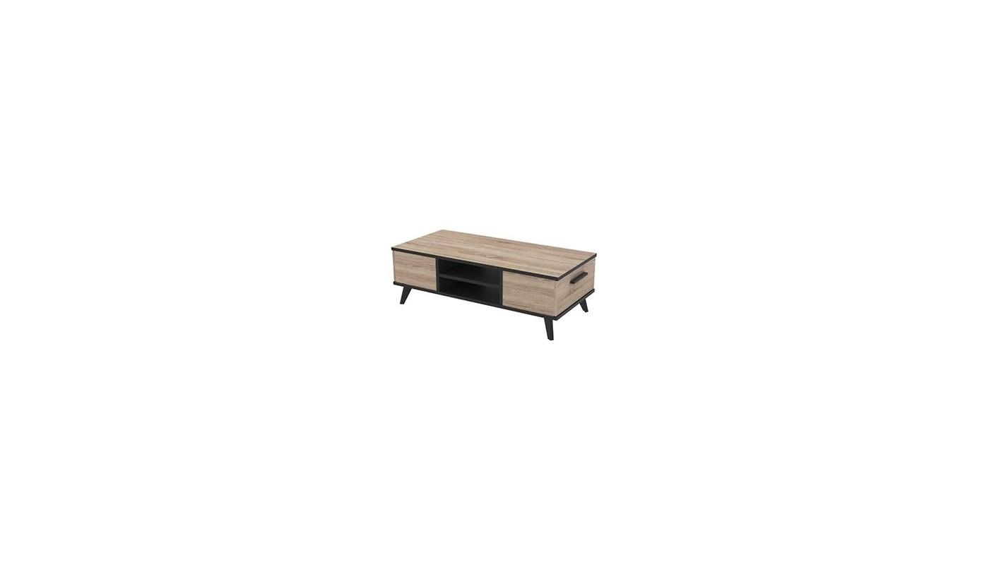 Smoothy meuble de cuisine sous vier 80 cm noir 2 portes for Meuble sous evier cuisine