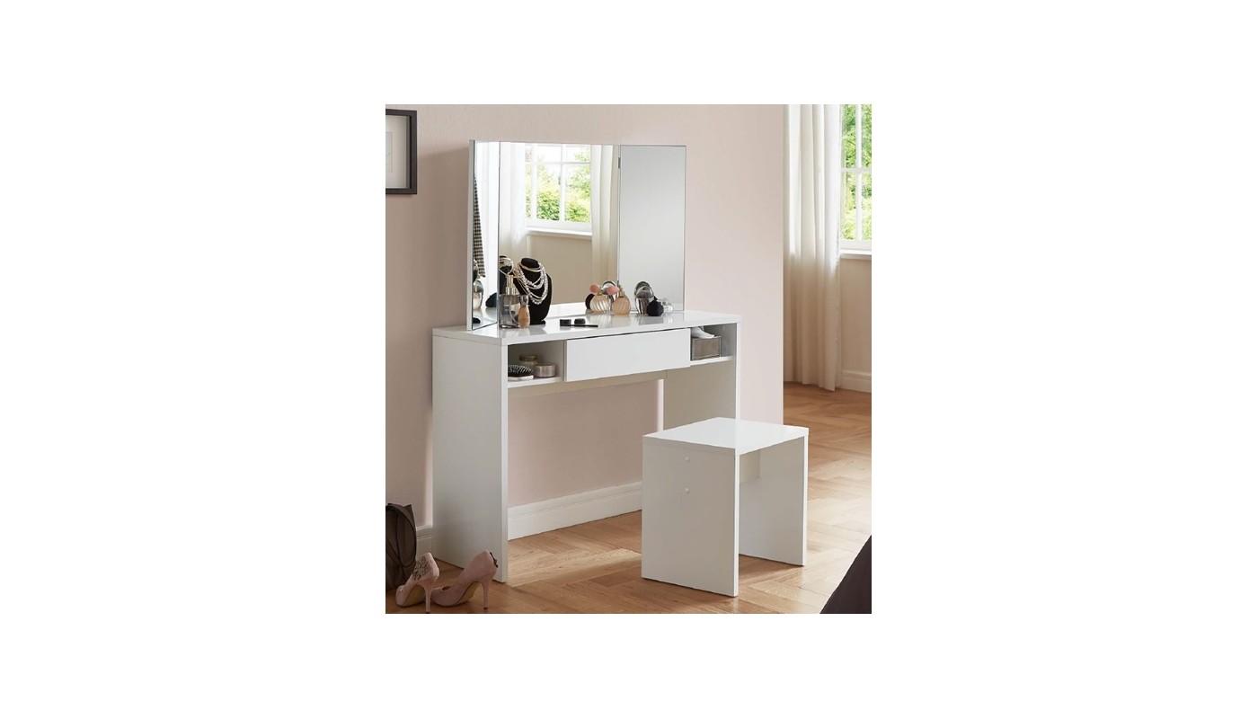 Bakery meuble bas 2 portes 2 tiroirs gris et ch ne - Meuble bas cuisine 2 portes 2 tiroirs ...