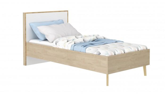 ROME - Lit simple pour couchage 90x200