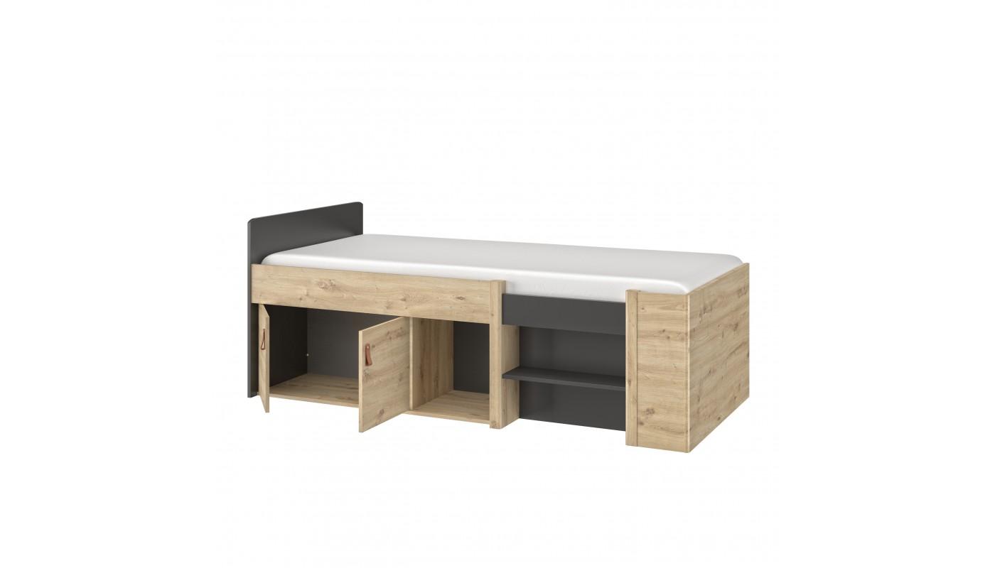 Bureau noir scandinave chaise noir scandinave