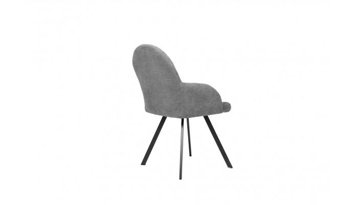 STONA - Lit pour couchage 90x190 gris